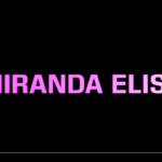 New EP Miranda Elise